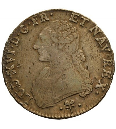 Francja 1 ecu 1781 L, Bayonne