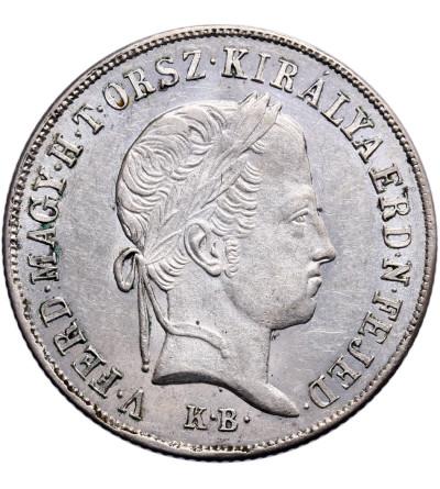Węgry 20 Krajczar 1848 KB, Ferdynand V