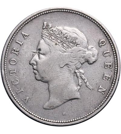 Hong Kong 50 centów 1891 H, Wiktoria