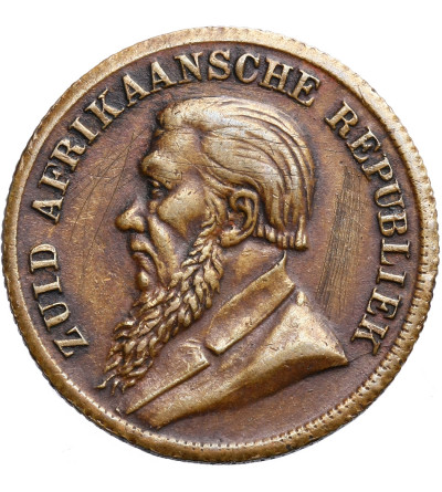 RPA 1 funt (Een) 1896, fantazyjna emisja lub fałszerstwo z epoki