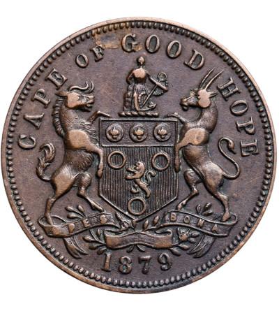 RPA, Żeton handlowy (Token) 1/2 Penny 1879, J.W. Irwin, Cape Town
