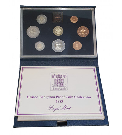 Great Britain Proof Set 1986