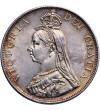 Wielka Brytania 2 floreny 1887, Arabska 1