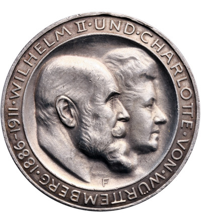 Niemcy. Wirtembergia 3 marki 1911 F, Srebrne Gody