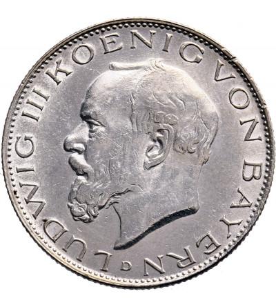 Germany. Bavaria 2 Mark 1914 D