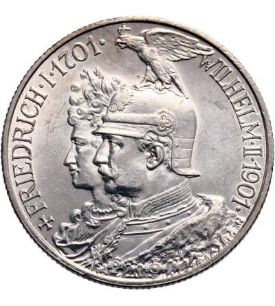 Niemcy. Prusy 2 marki 1901, 200 lecie królestwo Prus