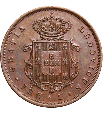 Portugalia 10 Reis 1867, Luiz I