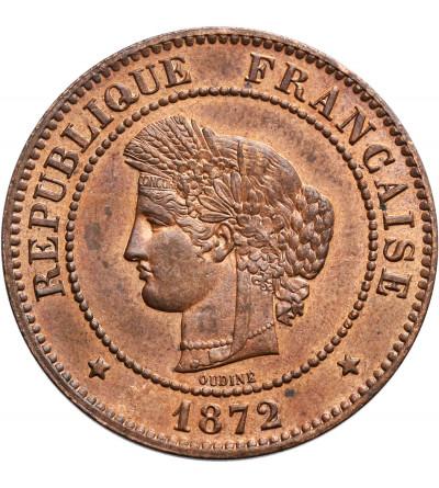 Francja 5 Centimes 1872 A
