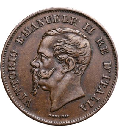 Włochy 5 Centesimi 1861 M, Vittorio Emanuele II