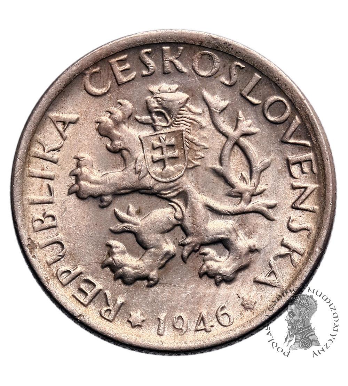 Czechosłowacja 1 Korona 1946