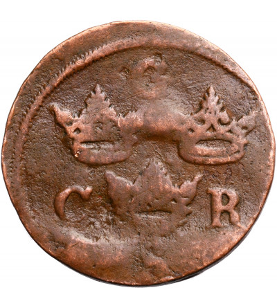 Sweden 1/4 Ore 1659, Carl X Gustavus