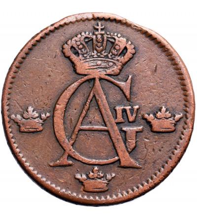 Szwecja 1/2 Ore 1807, Gustaw IV Adolf
