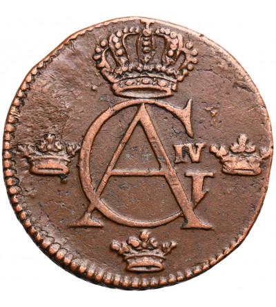 Szwecja 1/4 Ore 1805, Gustaw IV Adolf