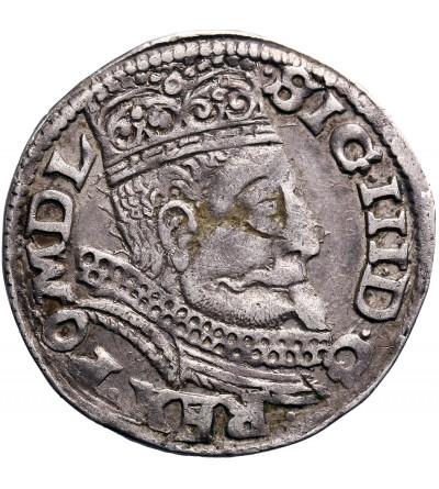 Polska. Zygmunt III Waza. Trojak (3 grosze) 1599 F, mennica Wschowa