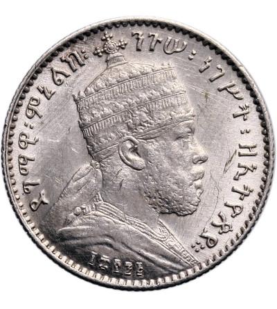 Etiopia 1 Gersh EE 1895 / 1902-1903 AD, Paryż