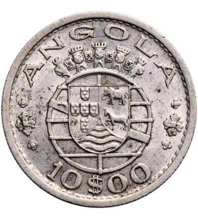 Angola 10 Escudos 1952