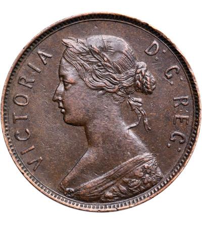 Kanada. Nowa Fundlandia 1 cent 1880, Wiktoria