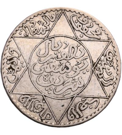 Maroko 1/2 Riyal (5 Dirhams) AH 1336 / 1917 AD