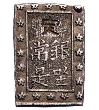 Japonia 1 Bu (Ichibu) w srebrze bez daty (1859-1868) Ansei