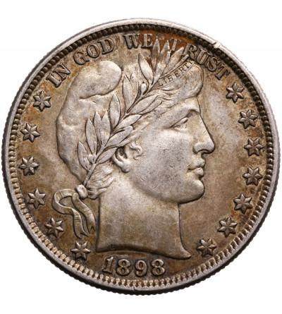 USA 1/2 Dollar 1898 (Barber Half Dollar),