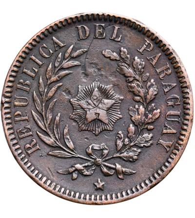 Paraguay 2 Centesimos 1870