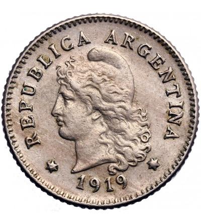 Argentyna 10 centavos 1919