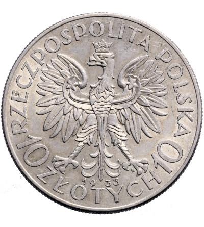 Poland 10 Zlotych 1933, Warsaw