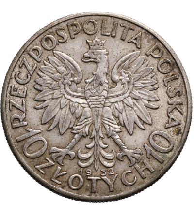 Polska 10 złotych 1932, bez znaku mennicy, Londyn
