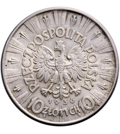 Poland 10 Zlotych 1936, Jozef Pilsudski
