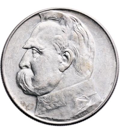 Polska 10 złotych 1936, Józef Piłsudski