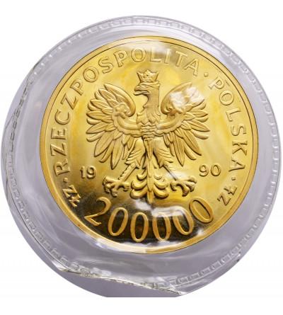 Polska 200000 złotych 1990, Solidarność - Proof