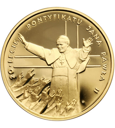 Poland 200 Zlotych 1998, Pope John Paul II