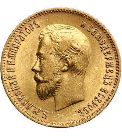 Rosja 10 rubli 1902 AP, St. Petersburg