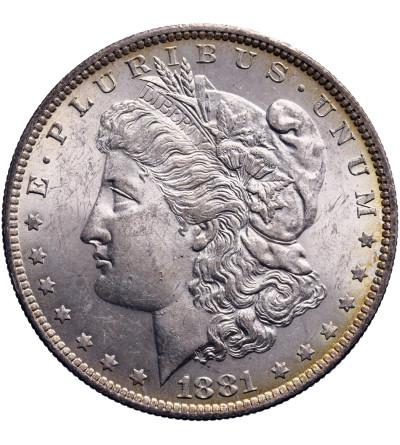 USA Morgan Dolar 1881 O, Nowy Orlean