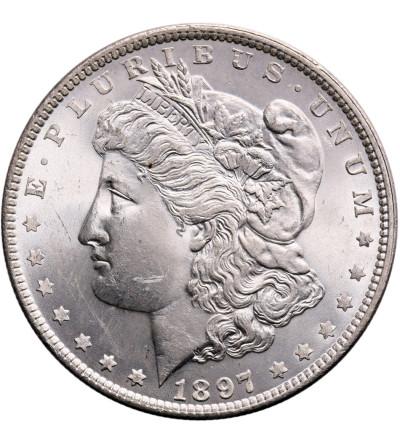 USA Morgan Dolar 1897, Filadelfia