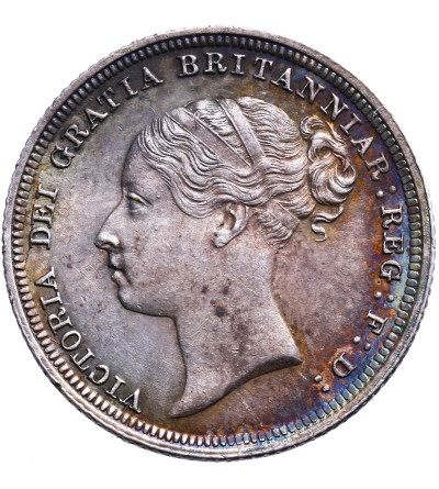 Great Britain 6 Pence 1885, Victoria
