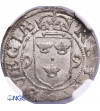 Sweden 1/2 Öre 1599, Stockholm, Karl IX (Regent) 1598-1604 - NGC MS 64