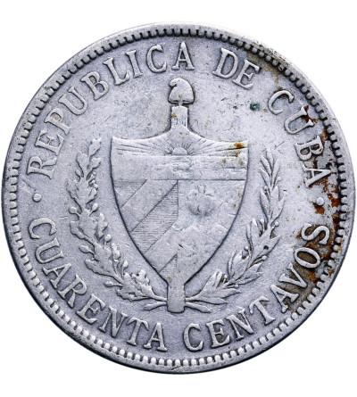 Kuba 40 Centavos 1915