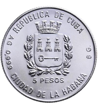 Kuba 5 Pesos 1988, Italy 1990
