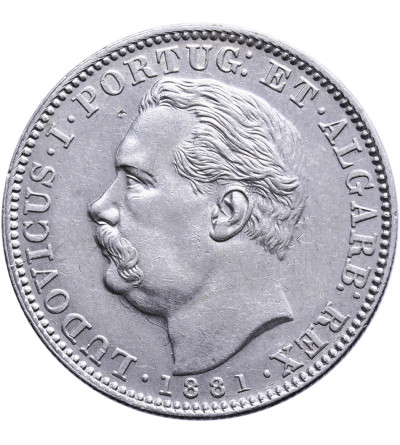 India Portuguese Rupee 1881