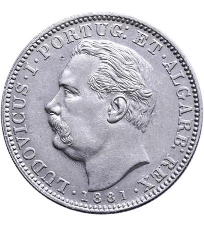 Indie Portugalskie 1 rupia 1881