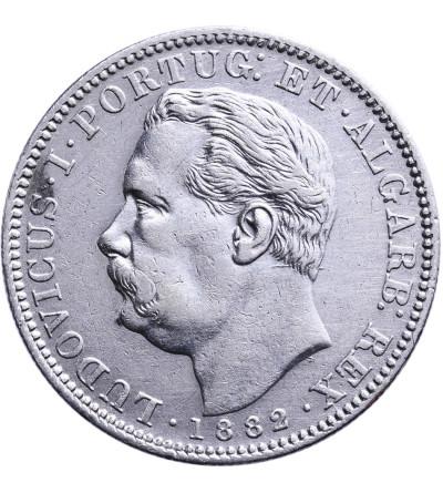 India Portuguese Rupee 1882