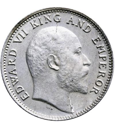 India British 1/4 Rupee 1906 (c), Calcutta, Edward VII