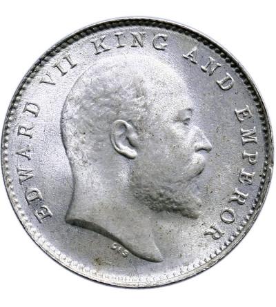 India British 2 Annas 1906 (c), Calcutta, Edward VII