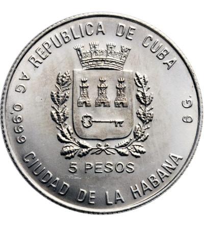 Cuba 5 Pesos 1988, Italy 1990
