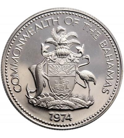 Bahamas 50 Cents 1974 FM (P) - Proof