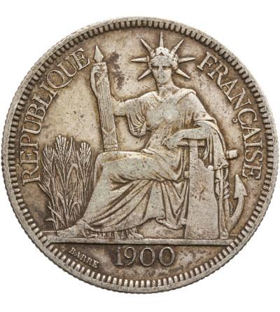 Indochiny Francuskie Piastre 1900 A