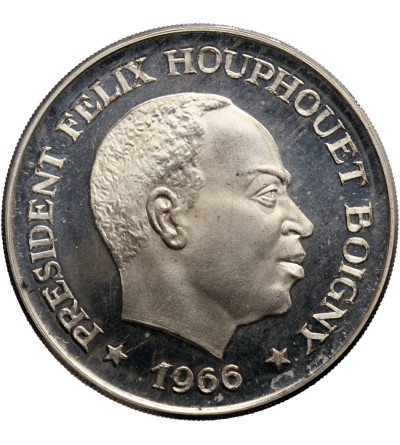 Wybrzeże Kości Słoniowej 10 franków 1966