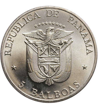 Panama 5 Balboas 1972