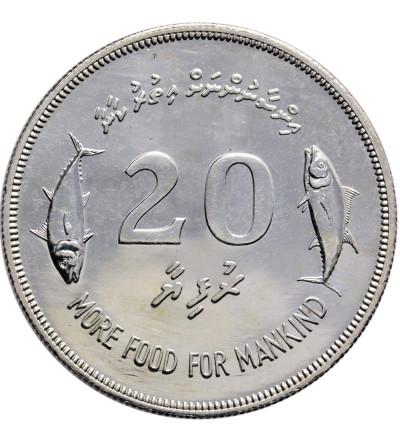 Malediwy 20 Rufiyaa 1977 F.A.O.